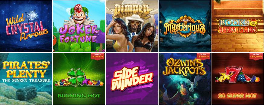 Popular AHTI Games
