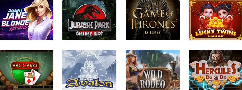 Popular Dingo Casino Games