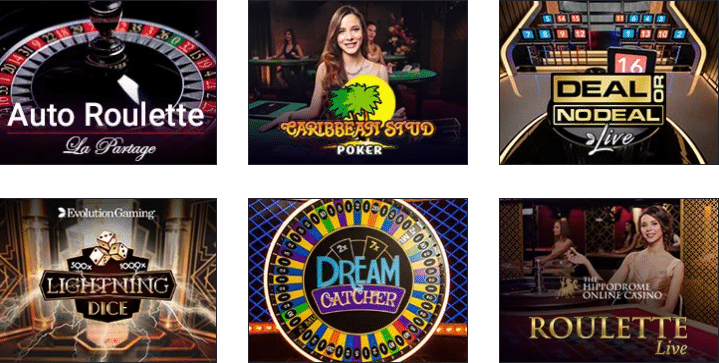 Live Dealer Games at Spicy Spins Casino