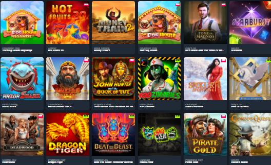 Popular GSlot Casino Games