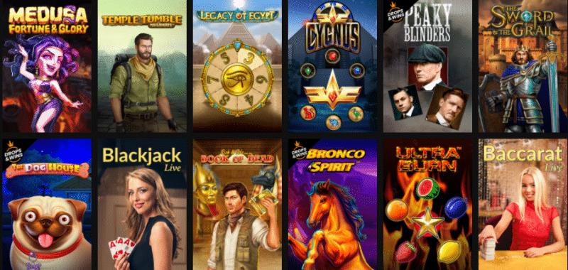 Popular Betinia Casino Games