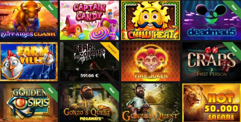 Popular Horus Casino Games