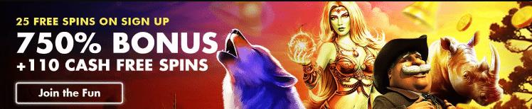25 Free Spins at Viva Mon Casino