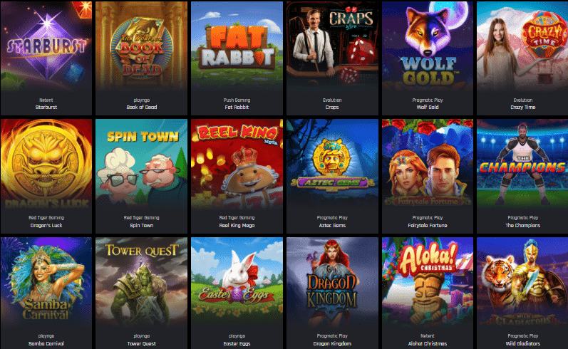 Popular Games at Casino Universe