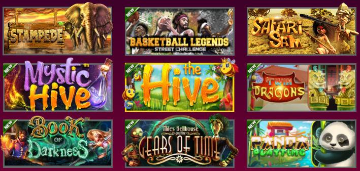 Popular Hallmark Casino Games