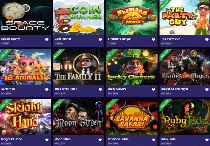 Popular Slots at Betplay.io Casino