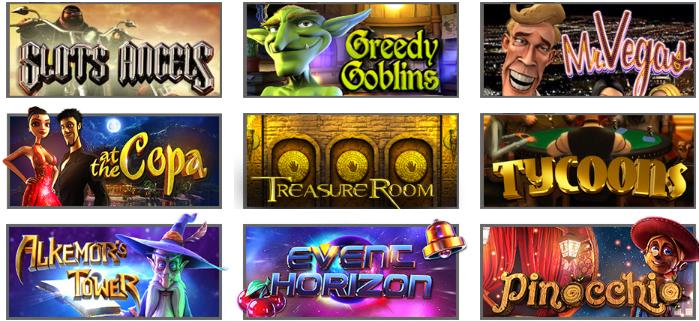 Popular Funclub Casino Games