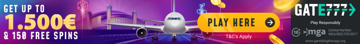 Get a $1500 Welcome Bonus Package + 150 Free Spins at Gate777 Casino