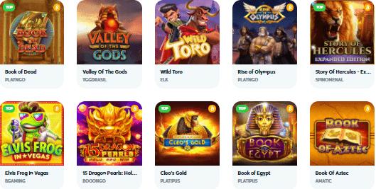 Popular Goodman Casino Games