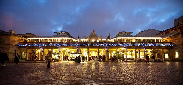 Christmas Market in Covenant Garden