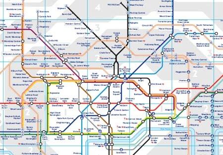 London Metro Map