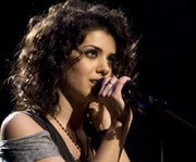 Katie Melua concert in London in Hammersmith Apollo on October 10th, 2012