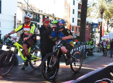 Alex Zampieri intervistato da Enrico Guala (Sestri Levante 2013) (Guidi Rosas Bike Team)