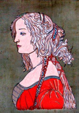 Ritratto di Simonetta Vespucci – di Sandro Botticelli 🍏 Ri-visto da Suor Rosetta