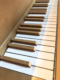 Particolare di Pianoforte, 2011 (Piano, detail)