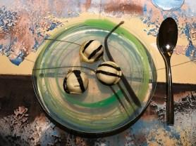 Pasta alle vongole - Su piatto piano in silicone