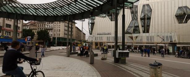 Piazza Homme de Fer a Strasburgo (F)