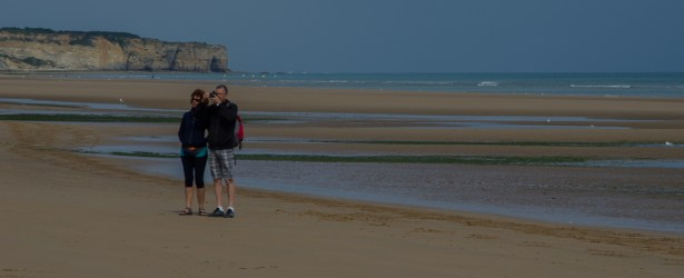 Fotoricordo ad Omaha Beach