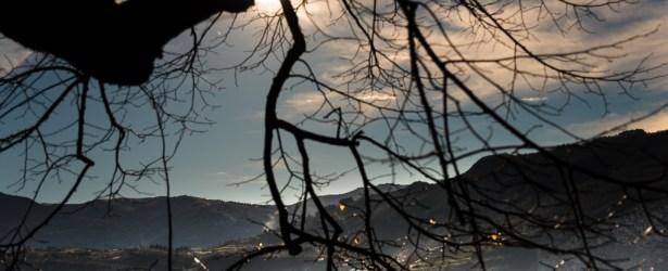 Panorama dicembrino da Montalbano