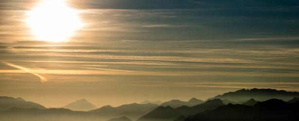 Si avvicina il tramonto