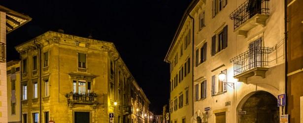 Piazza Cesare Battisti (El Zochel) a Mori (TN)