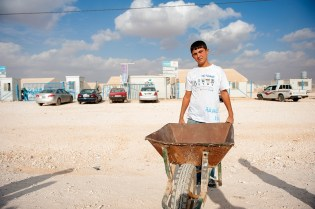 PhotoReport Al Za'atari Refugeecamp