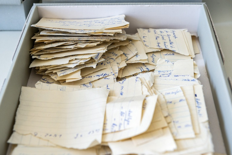Stasi Archive: Torn Documents