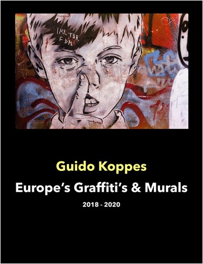 Cover E-Book Europe's Graffiti's & Murals