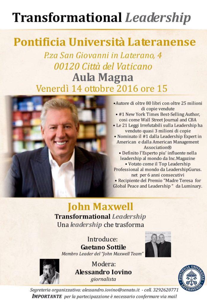 John Maxwell a Roma