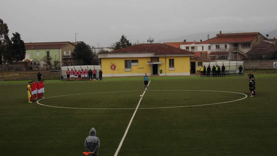 Calcio 1a Categoria C. Tris dell'Abbasanta alla Tonarese