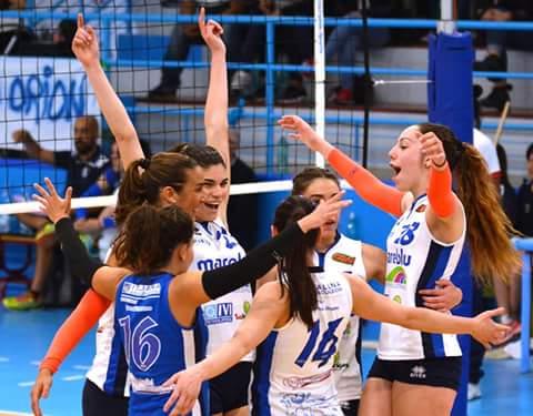 """Volley Femminile. L'Ariete vince gara due dei play off e ora si gioca la """"bella"""" sabato a Sassari"""