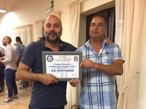 """Assegnati dalla FIGC ad Arborea gli """"Oscar"""" del calcio regionale per la stagione 2017-18"""