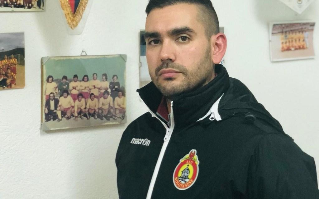 """Calcio 2A categoria F. La """"schedina"""" di Enrico Fadda capitano della Bolotanese"""