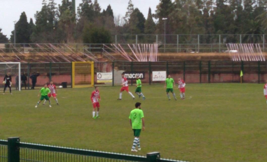 Video notizia calcio 1A categoria B. Terza vittoria consecutiva della Tharros