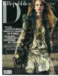 2008 - La Republicca magazine (Italian PDF)