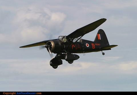 Westland Lysander MkIII. Photo by Derek Pedley. Courtesy of Air Team Images.