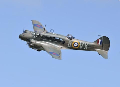 Avro Anson Mk I. Photo courtesy and copyright of Chris Gee.