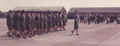 Passing out parade on July 134, 1979. This was the last one that Angela Rose attended. Further pictures are from the same parade.