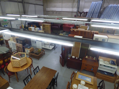 The current showroom at Unit 4
