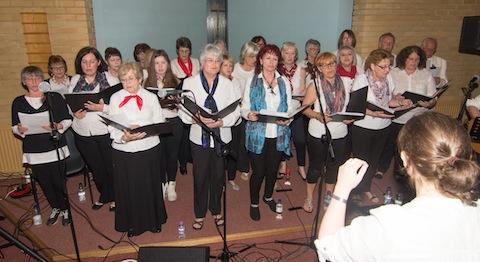 Rhythm of Life community choir.