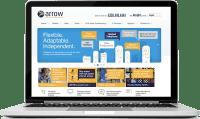 Arrow Communications National Brochure website in Godalming