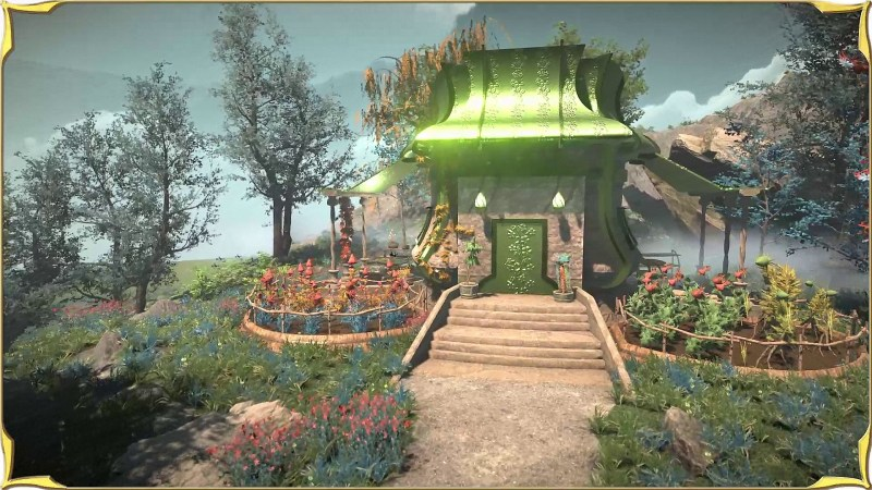 Herbalist House View