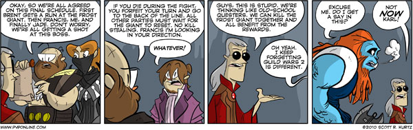 Dynamic Events Comic