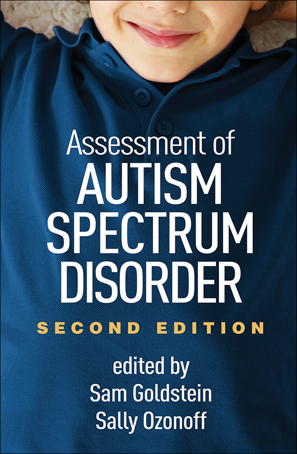 Assessment of Autism Spectrum Disorder  Second Edition Cover Graphic