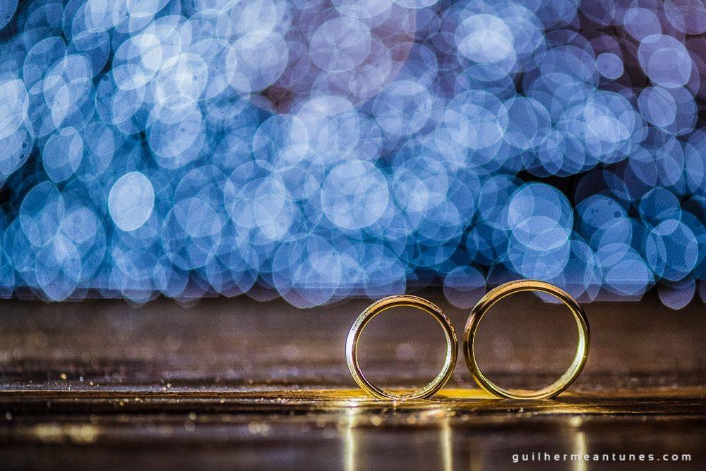 Fotografia de Casamento Luana e Alysson alianças dos noivos