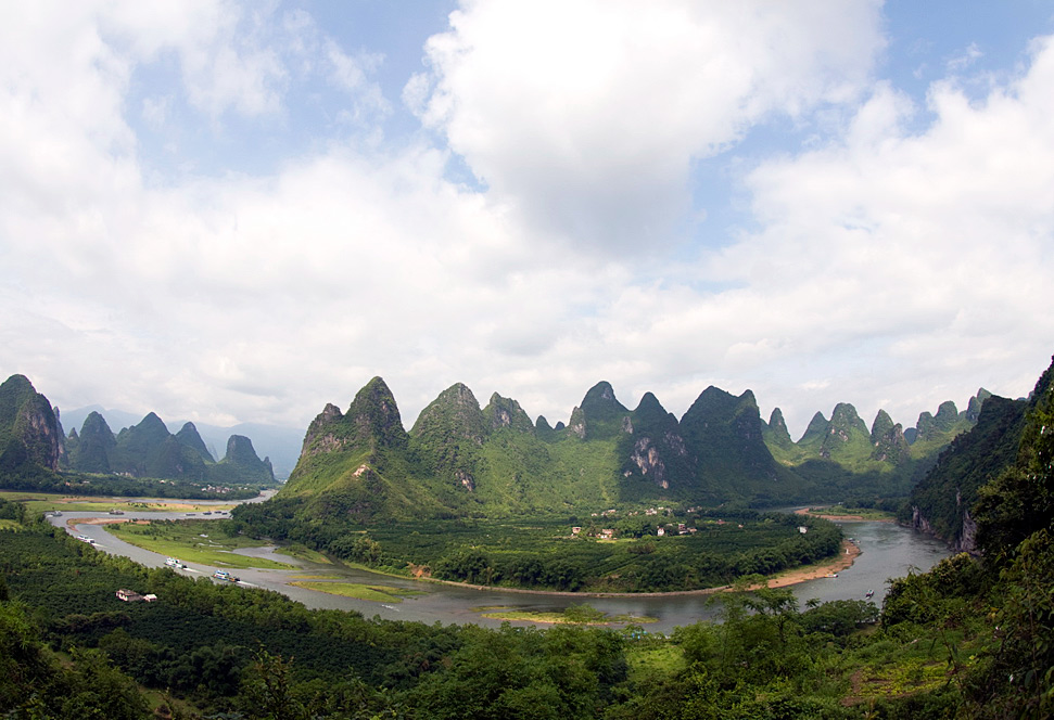 Karst hills in Guilin,China