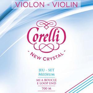 Jeu de cordes Corelli New Crystal pour violon medium