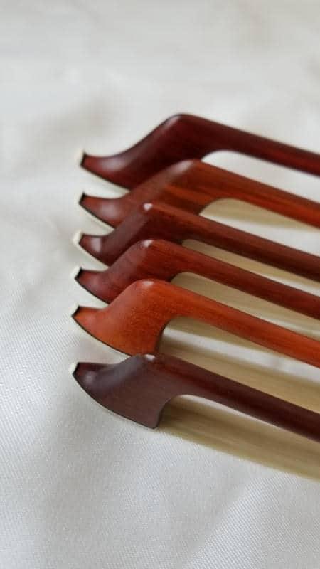 Taille des archets de violon