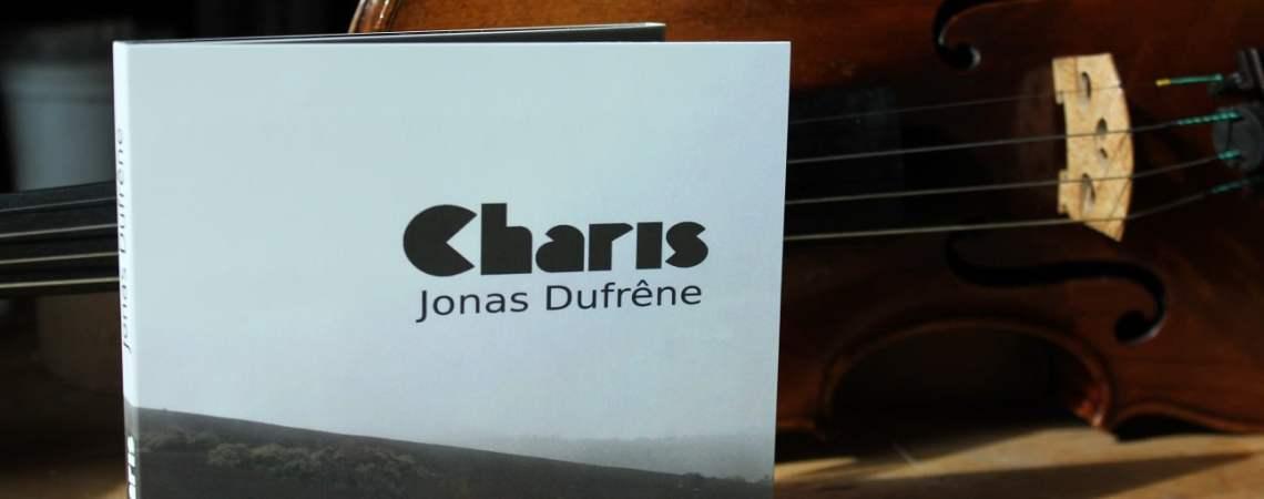 Charis, le nouvel album du violoniste Jonas Dufrêne.