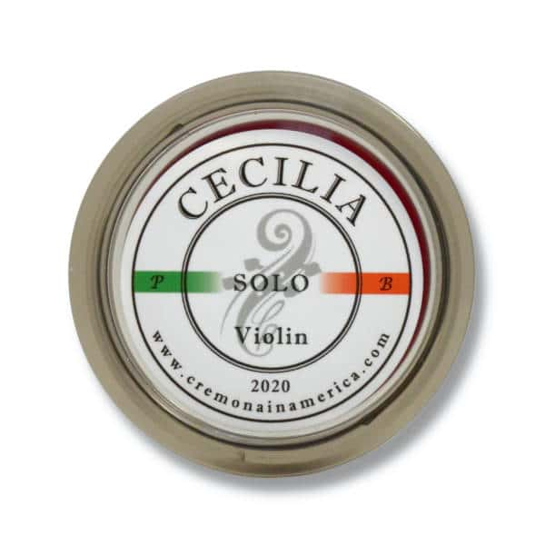 Logo de la colophane Cecilia Solo pour violon